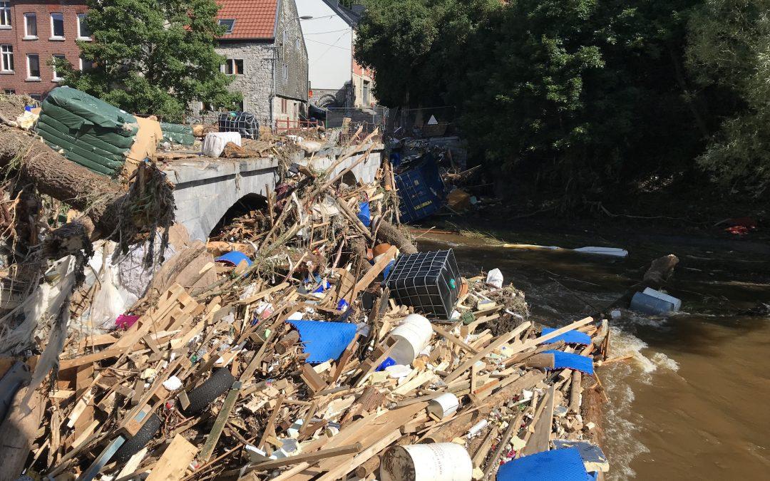 Catastrophe : inondations en Belgique (juillet 2021)