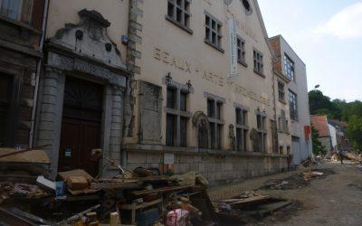 État d'urgence pour le patrimoine belge  –  Le patrimoine frappé par des inondations inédites